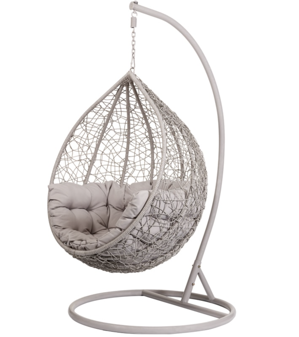 Siena Hanging Egg Chair   B&M Stores £150
