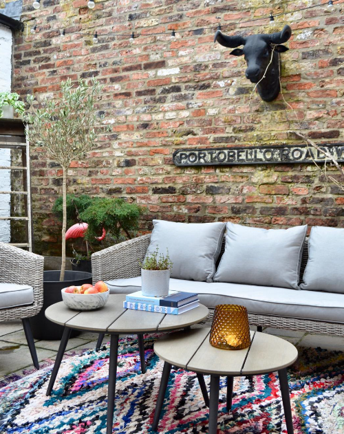 Outdoor collaboration with a European homewares brand.