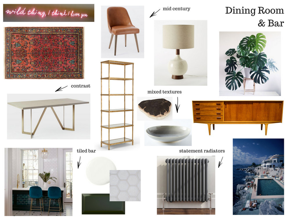 A mood board is the best way to plan your space.