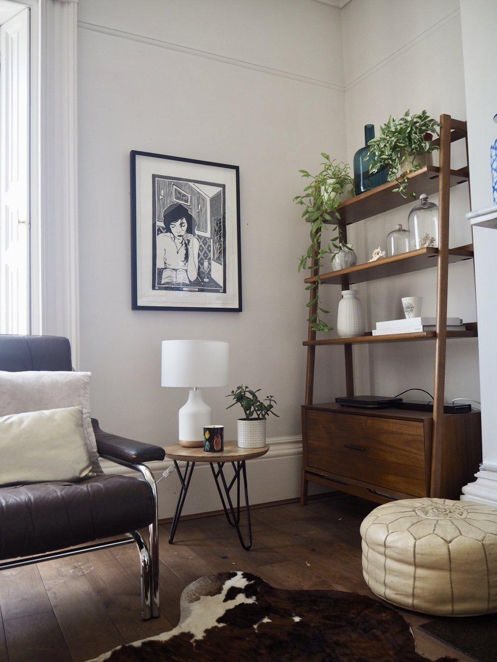 Argos Home Inca Metal & Wood Table Lamp
