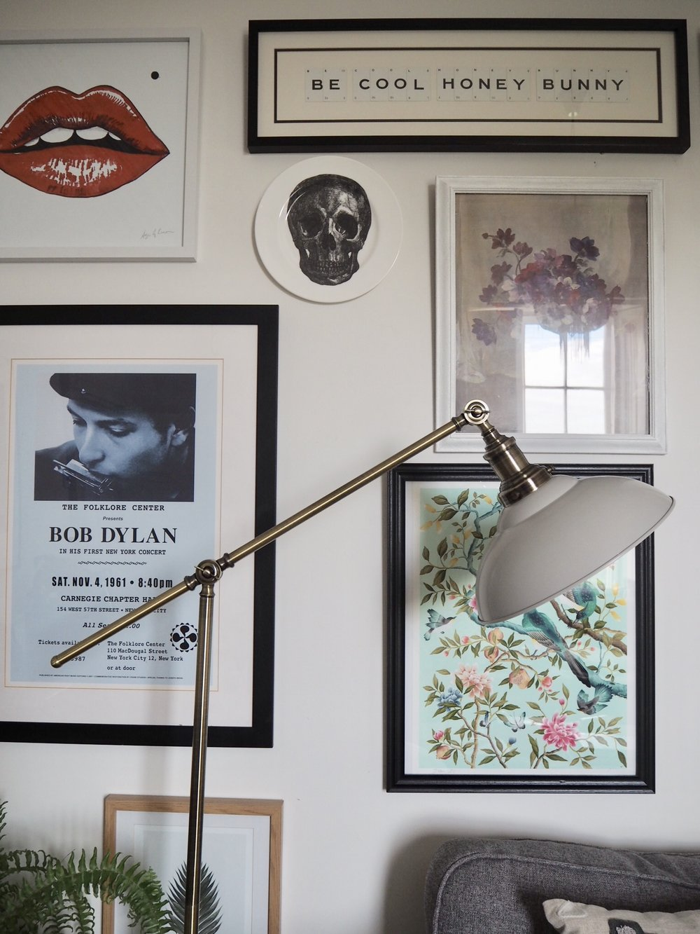 Argos Home Tudway Floor Lamp, Grey