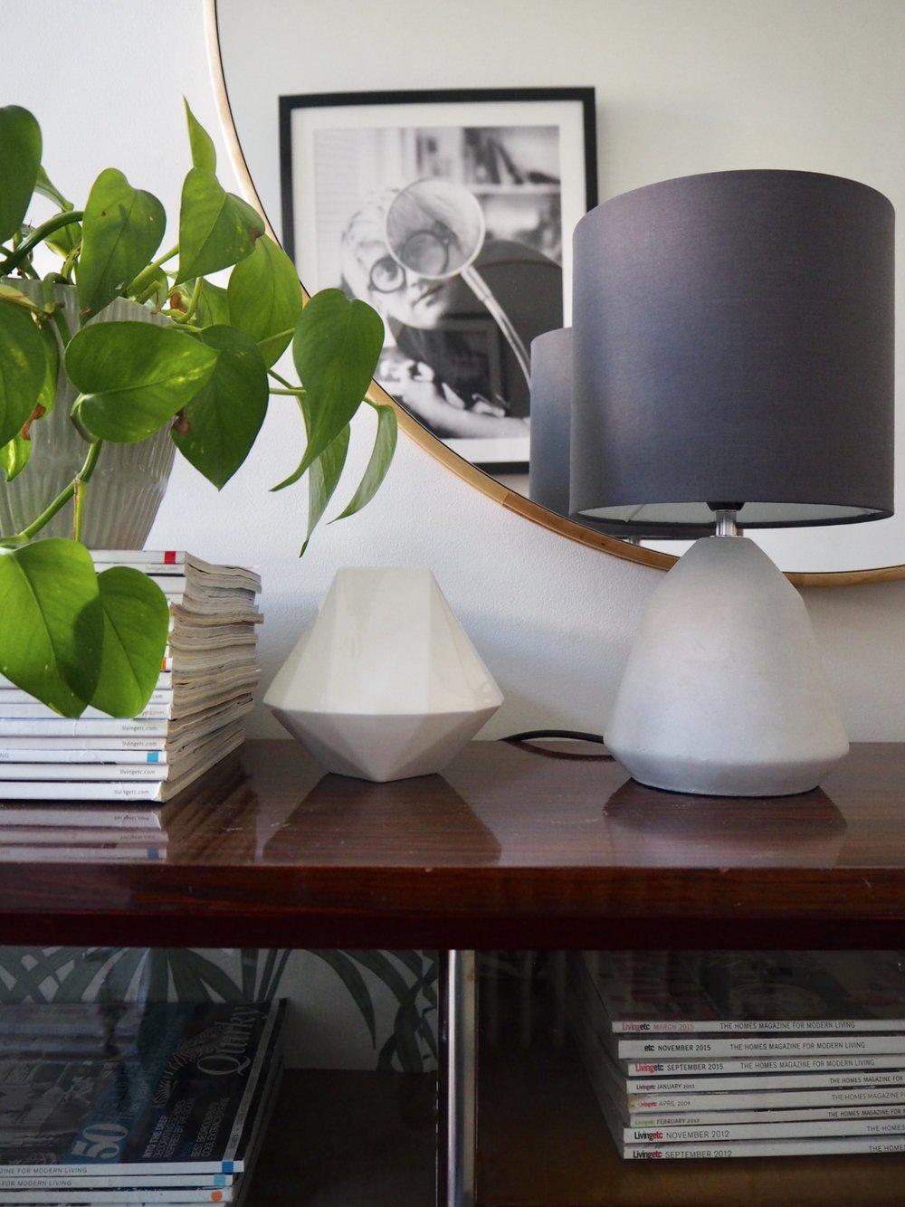 Argos Home Condy Concrete Table Lamp