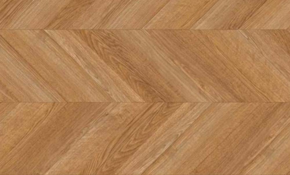 Pleated flooring from  Amtico .