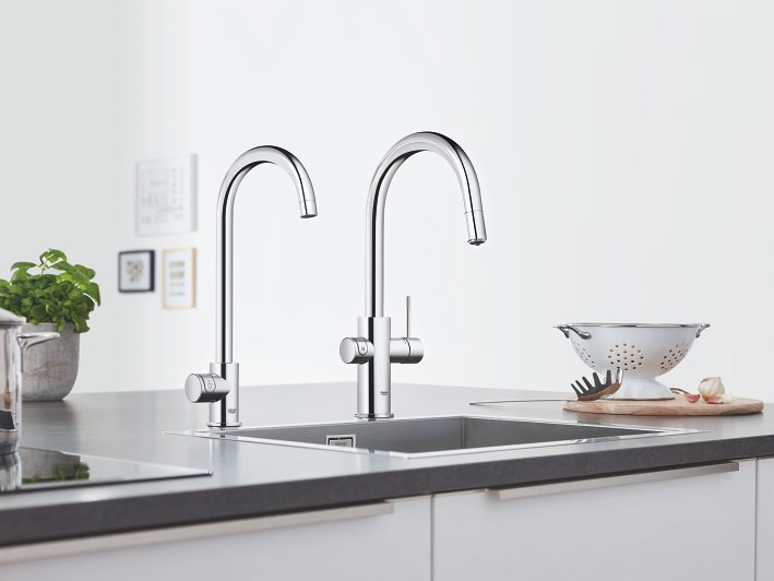 Grohe  sink and taps.