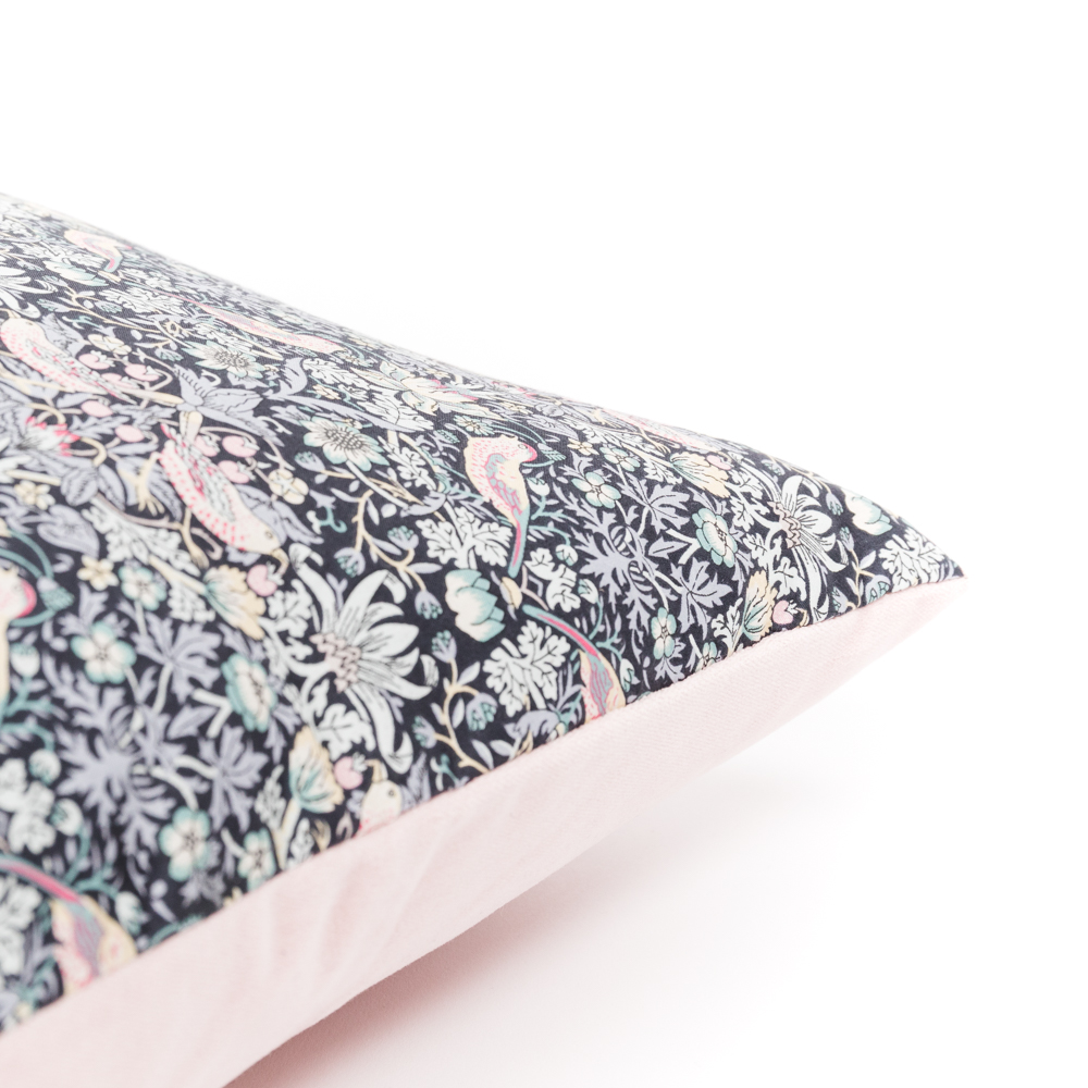 Blush Pink William Morris Liberty Print Cushion  - from £27  Poppy & Honesty
