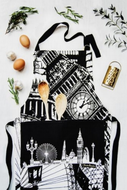 London Chefs Apron  - £20 (also available Newcastle & York)  Powder Butterfly