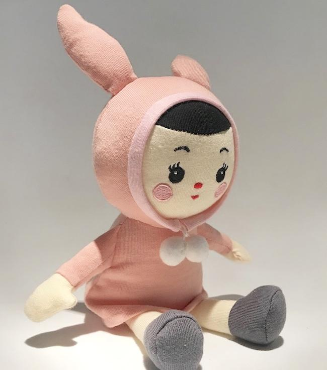 Mitsou Doll in collaboration with Rachel Ortas  - £12.95  Lapin & Me