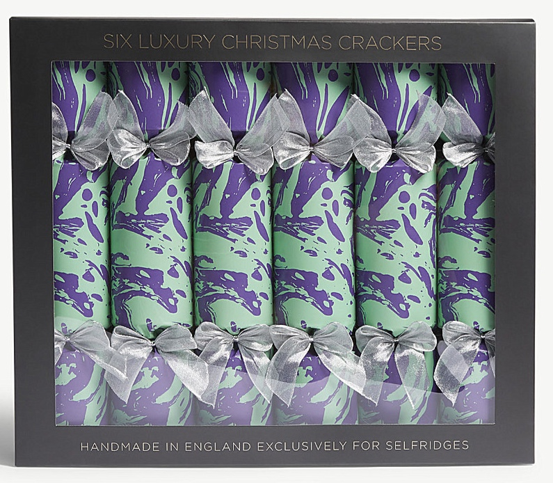 Marble crackers   Selfridges - £50 for six