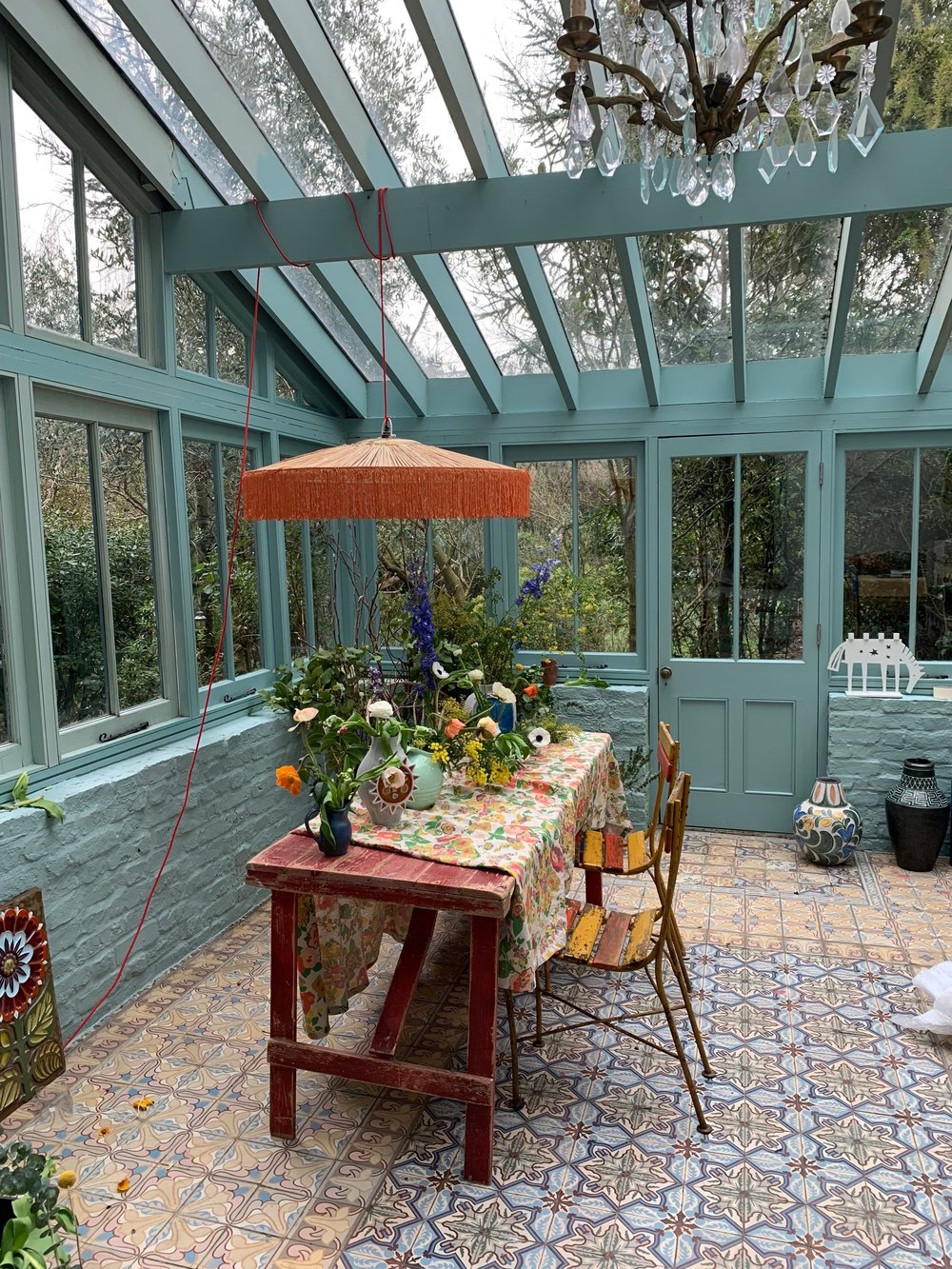 The fabulous home of  Marianne Cotterill , mid location shoot.