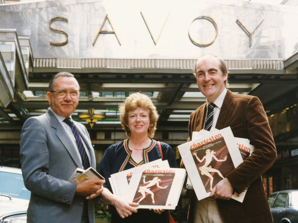 Kevin in the final year of his life, promoting his 'Charleston' Savoy bands reissue