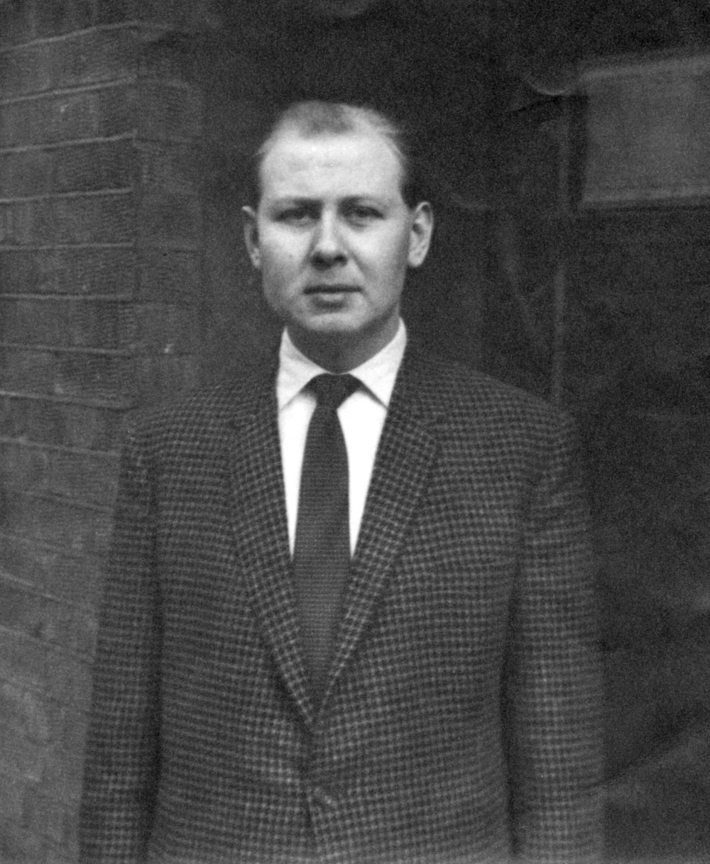 Harry Fisher, Decca disc-cutter, taken in the early 1960s