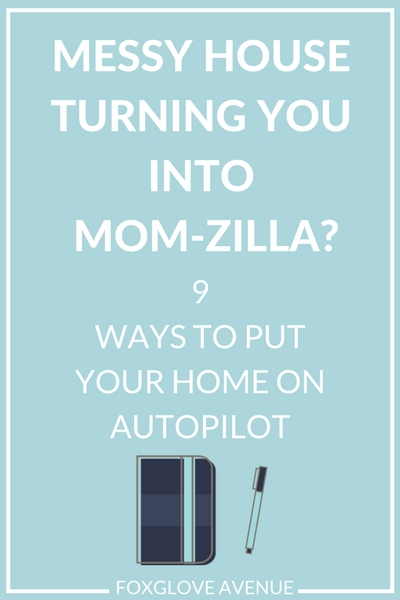 How to put your home on auto-pilot with organizing systems