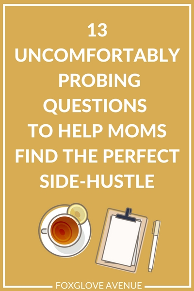How to pick the perfect side-hustle