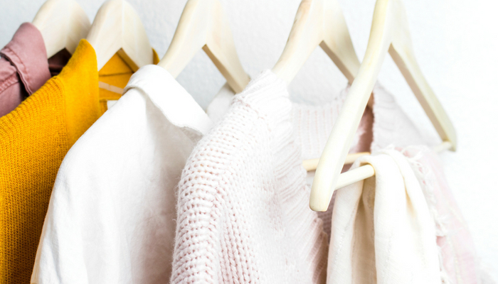 Decluttering your closet is a great way to start busting out of that style rut.