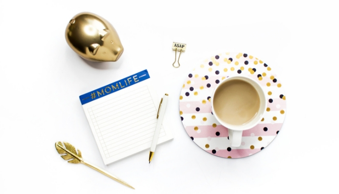 12 Things to do at the start of the month to get your mom life organized.