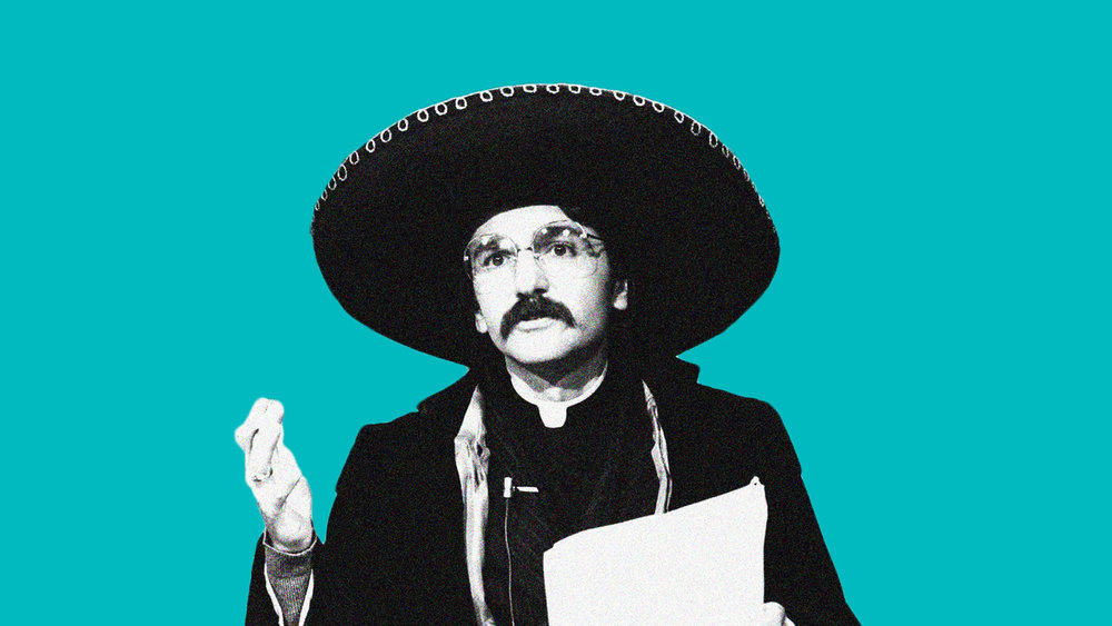 Don Novello as Father Guido Sarducci | Photo: Alan Singer