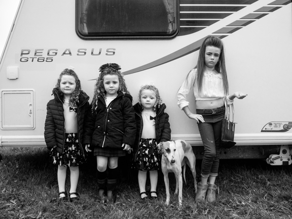 Portraits of the Irish Traveller Community.