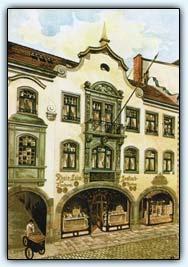 """Дюссельдорф: Fischhaus - тот """"самый"""" рыбный ресторан в Старом городе, 1904 год"""