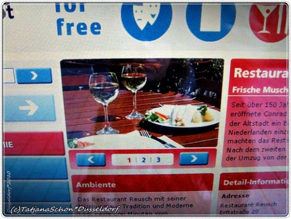 Дюссельдорф, Кёнигсаллея - электронная бесплатная справочная и Free WiFi