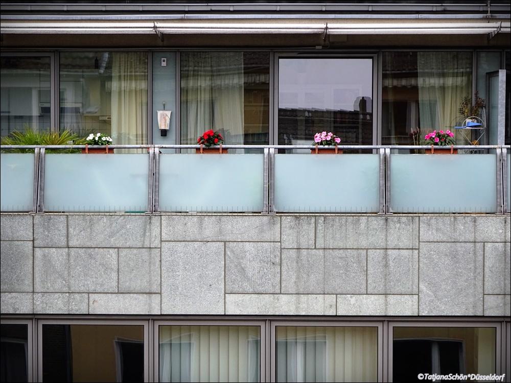 Элегантный балкон.