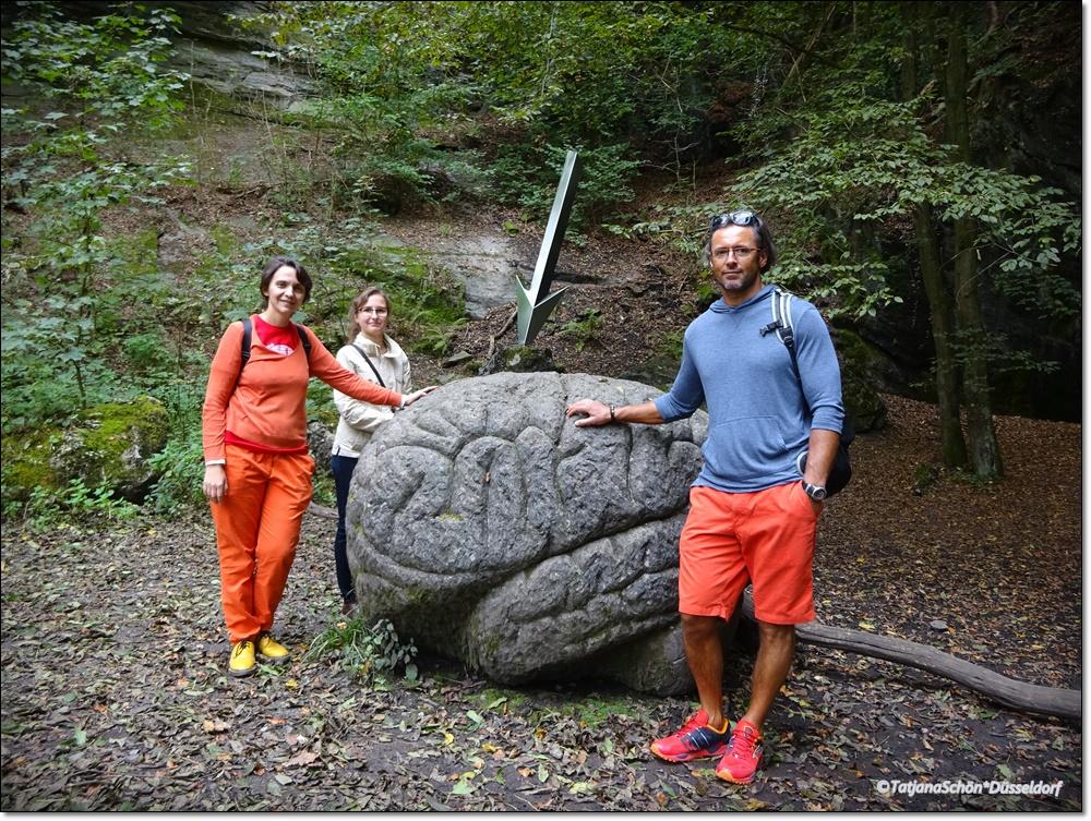 И каменный мозг со стрелой (и фото на память о камнях)