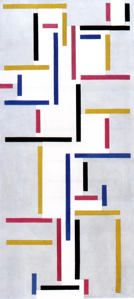 Ритм русского танца, 1918, Нью-Йорк, Музей современного искусства - таким прямоугольнымвидит танец авангардист-архитектор Тео ван Дусбург.
