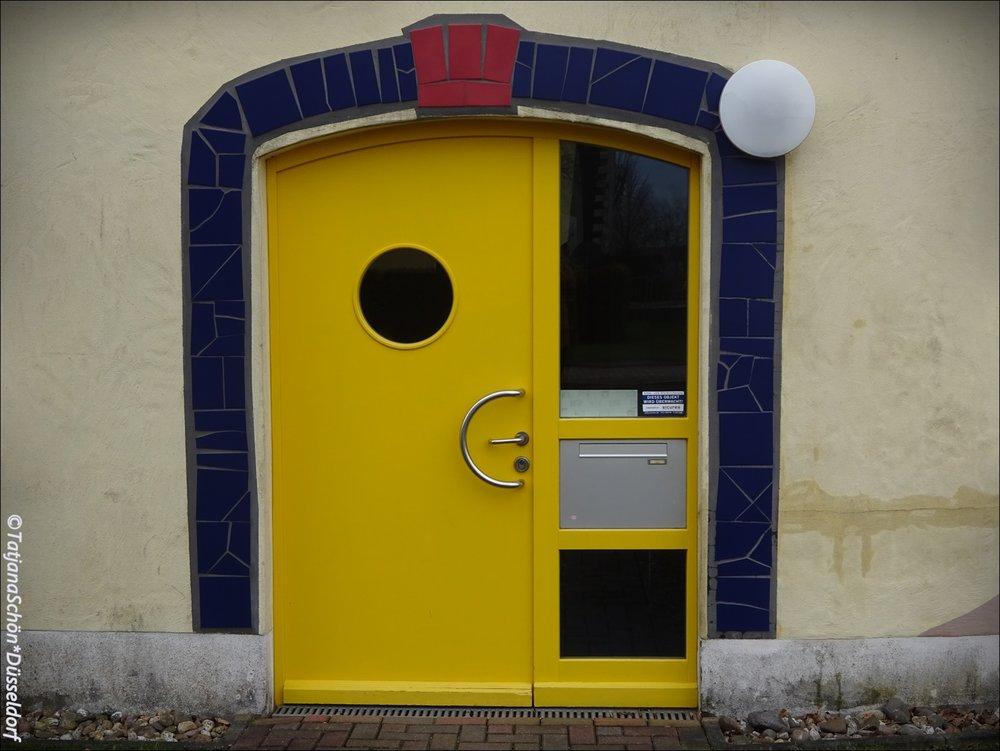 """Дверь детского сада """"Дюссель-Тор"""""""