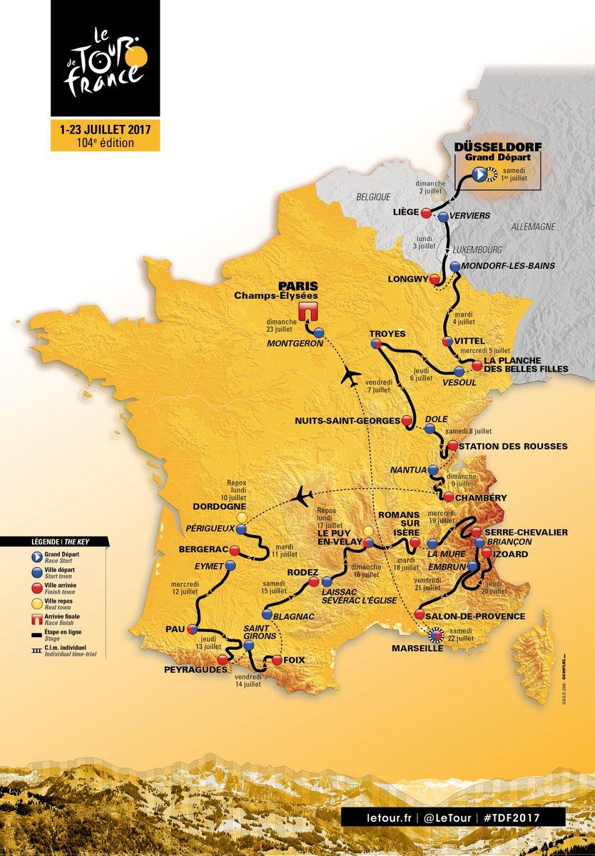 И вот вам супермаршрут из Дюссельдорфа в Париж за 22 дня!