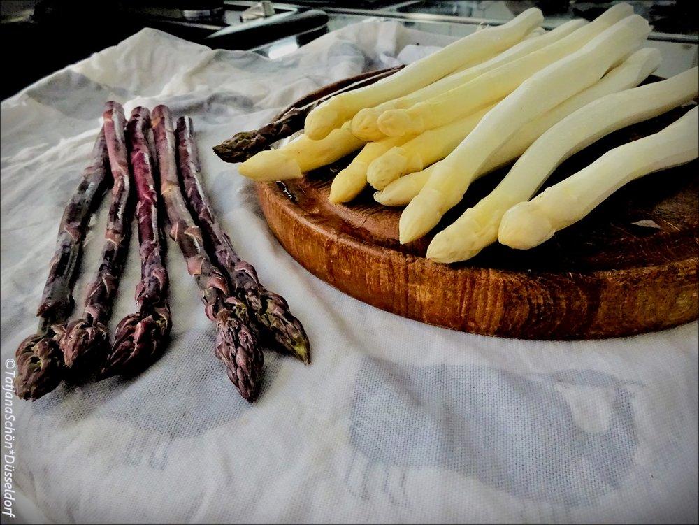 Спаржа-красавица - фото из моей кухни :-)