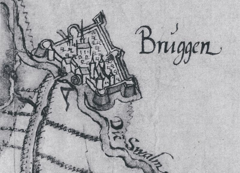 Карта 1601 года