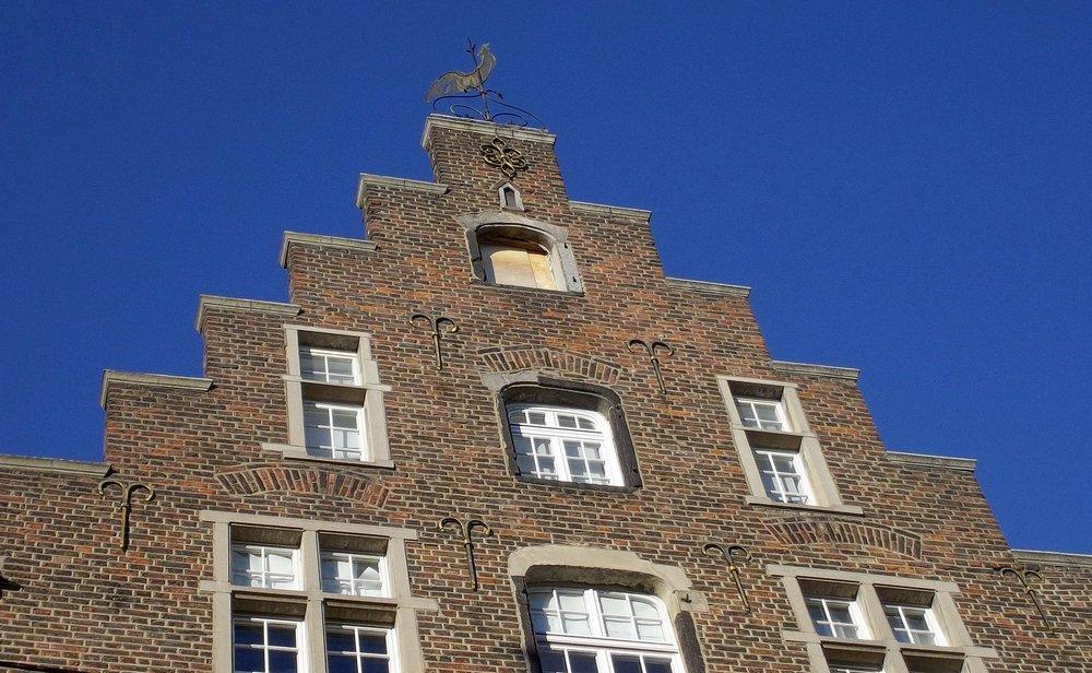 Дом постройки 1627 года на улице Болькерштрассе