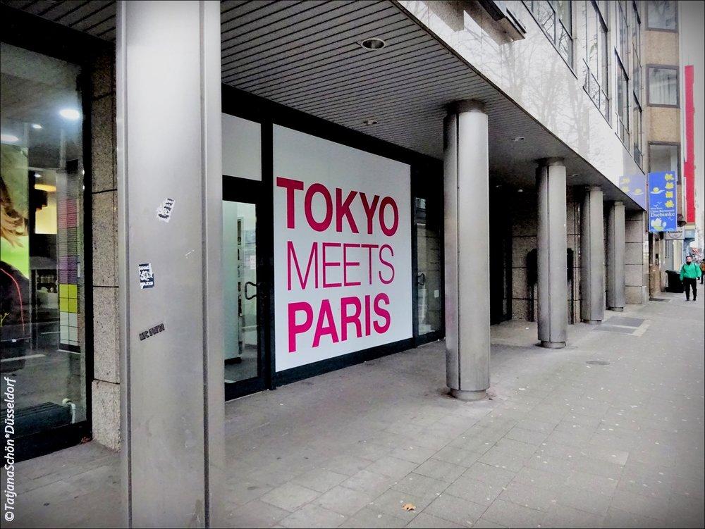 Токио встречает Париж в Дюссельдорфе.