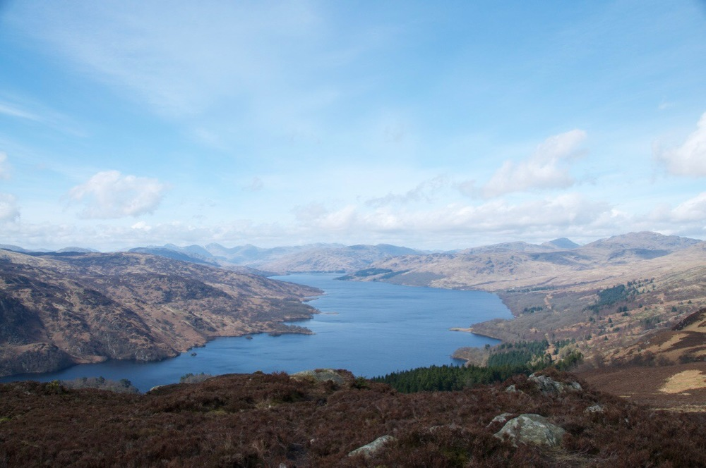 Loch Katrine off Ben A'an.