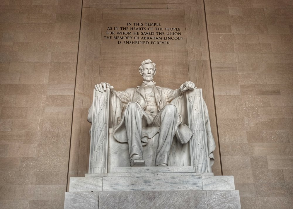 Abraham Lincoln Memorial.