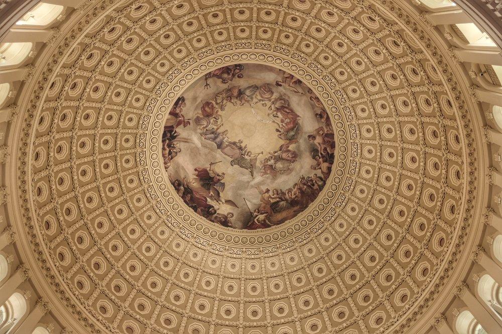 Rotunda of Capitol Hill.