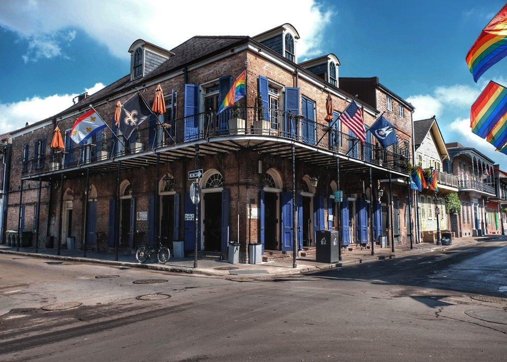 Bourbon Street, French quarter.