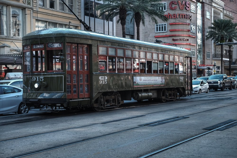 St. Charles street car.