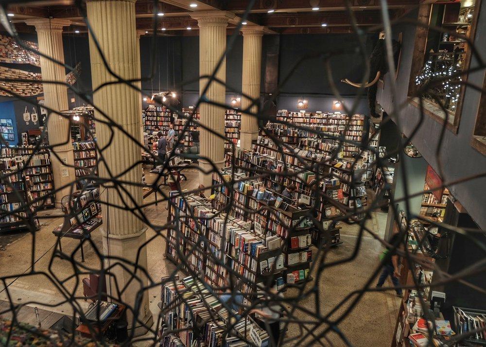 The last book shop.