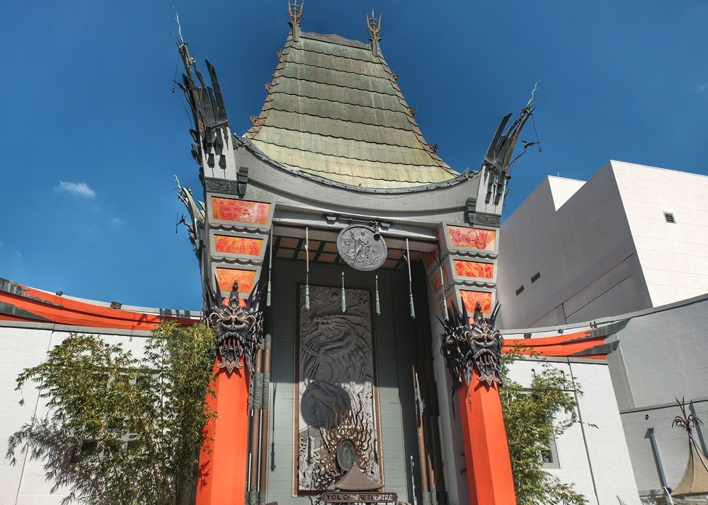 Chinese Theatre, Hollywood.