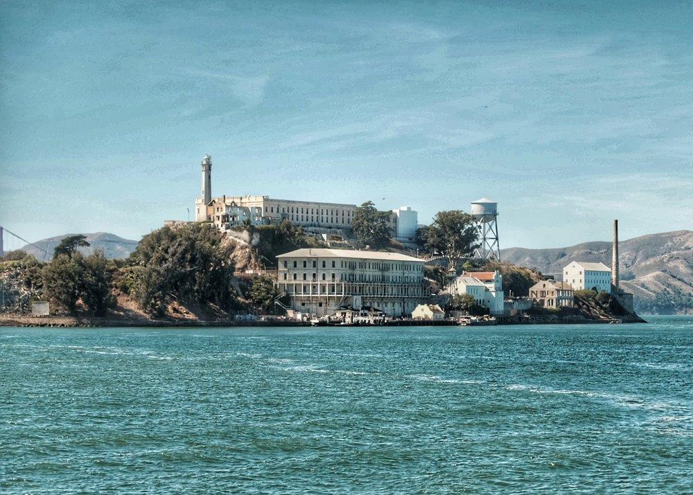 """Alcatraz aka """"the Rock""""."""