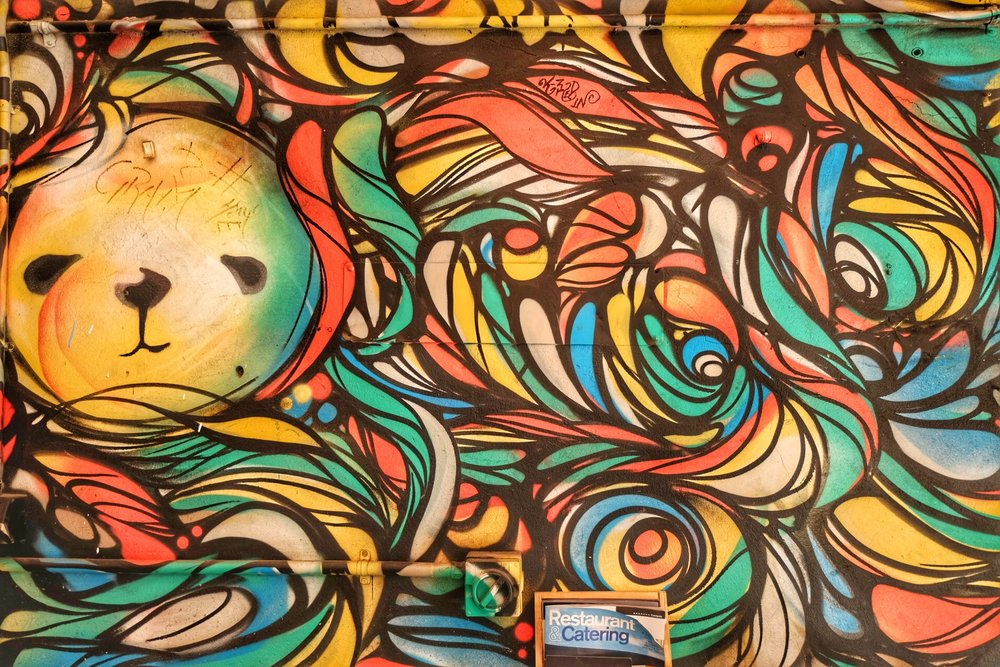 Melbourne's street art.