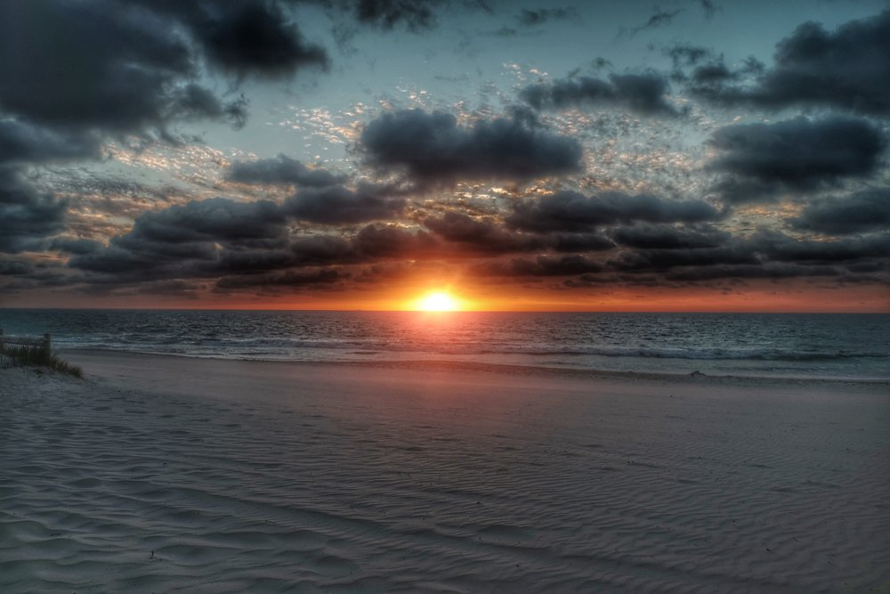 Sunset at Mullaloo Beach.