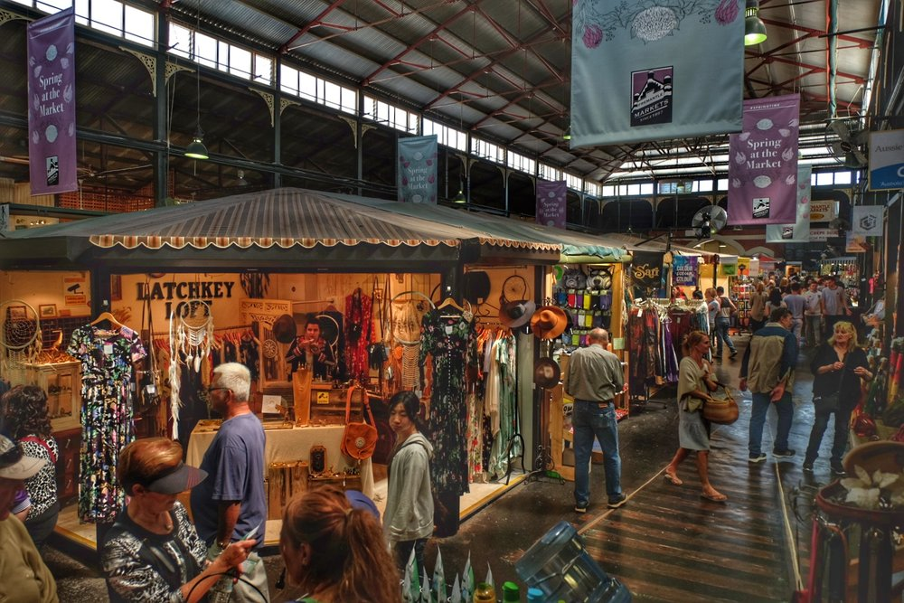 Fremantle Market.