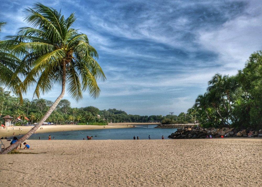 Palawan Beach.