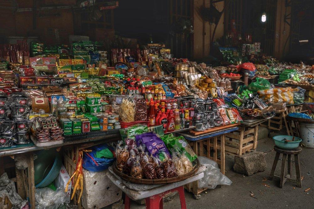 Local markets.