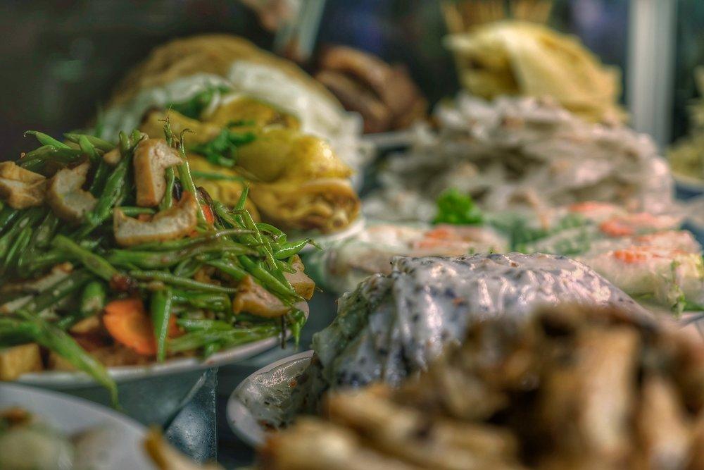 Local Vietnamese food.