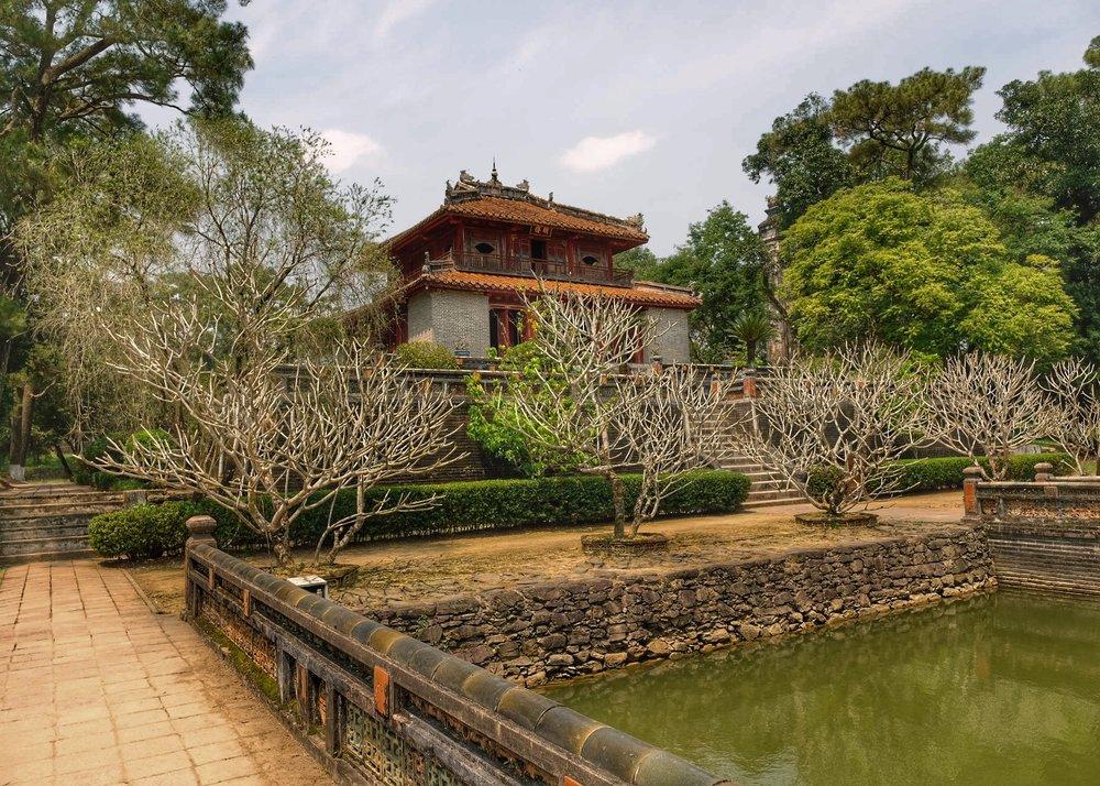 Tomb of emperor Minh Mang.