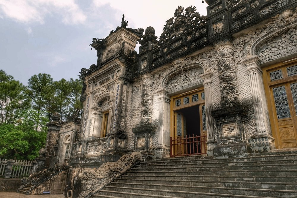 Tomb of emperor Khai Dinh.