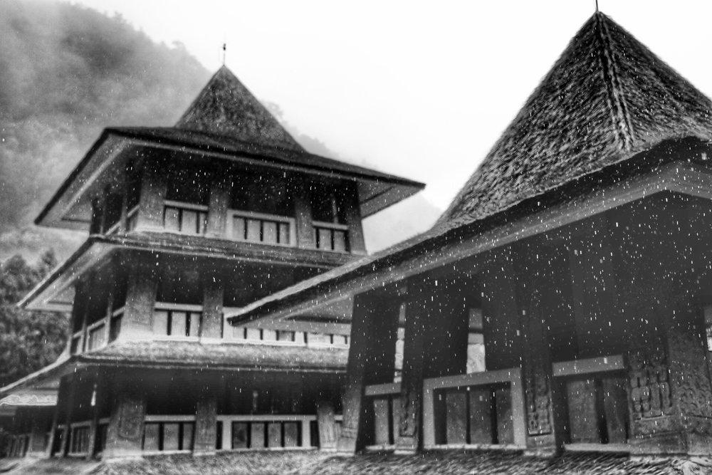 Entrance to Formosan Aboriginal Cultural Village.