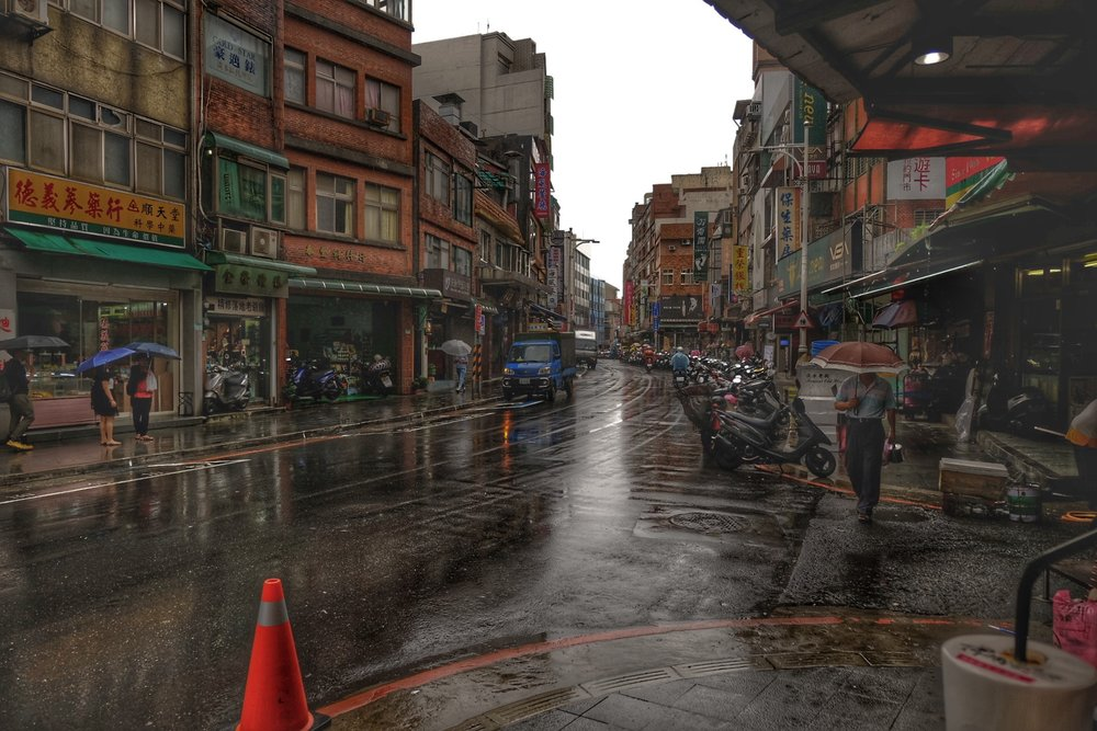 Old streets of Tamsui